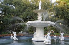 Forsyth fountain stock image