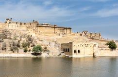 fortów złociści ind Jaipur Zdjęcie Royalty Free