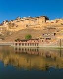 fortów złociści ind Jaipur Obraz Stock
