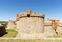Fort在萨尔斯le大别墅的de萨尔斯,法国 免版税库存图片