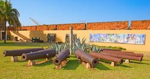 Fort à Maputo, Mozambique Image libre de droits