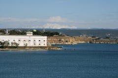 Fort. View of old fort at Sevastopol (Crimea, Ukraine Royalty Free Stock Image