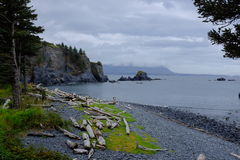Fort Abercrombie State Historical Park, Kodiak Royalty Free Stock Images