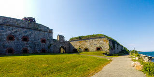 Fort Adams, Newport, Rhode Island Royalty Free Stock Photos