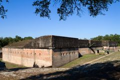 Fort Advanced Redoubt Royalty Free Stock Images