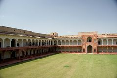 Fort of Agra, India Royalty Free Stock Photography