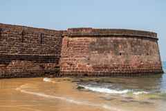 Fort Aguada in Goa Stock Afbeeldingen
