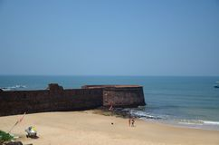 Fort Aguada, Goa, India Royalty Free Stock Photography
