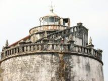 Fort Aguada i swój latarnia morska Fotografia Royalty Free