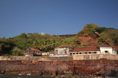 Fort Aguada Prison Royalty Free Stock Image