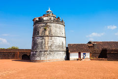 Fort Aguada w Goa Zdjęcie Stock