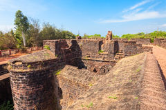 Fort Aguada w Goa Obrazy Royalty Free