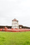 Fort Aguada is a well-preserved seventeenth-century Portuguese f Royalty Free Stock Photography