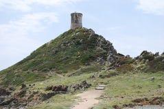 Fort Ajaccio, Korsika ö Arkivfoton