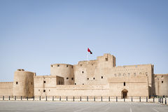 Fort al Jabreen Royalty Free Stock Photo