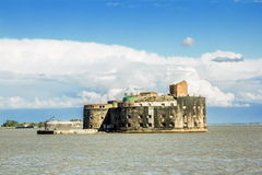 Fort Alexander first in Kronstadt in the Finskiy Gulf . St. Pete Stock Images