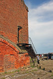 Fort Alexander I, or Plague Fort in Russia Stock Photography