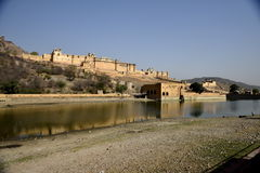 Fort Amber, India Royalty Free Stock Image