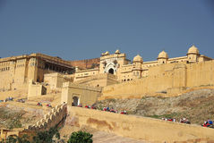 Fort of Amber, Rajasthan Royalty Free Stock Images