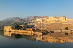 Fort (ambre) d'Amer, Ràjasthàn, Inde Images libres de droits