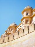 Fort ambre dans l'Inde de Jaipur Images libres de droits