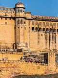 fort ambre Inde Jaipur Photo stock