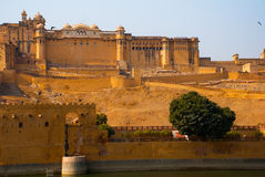 Fort ambre jaipur l'Inde Photographie stock