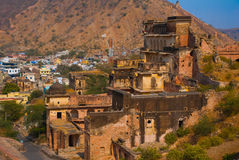 Fort ambre jaipur l'Inde Photos stock