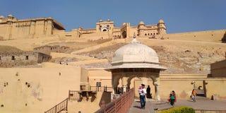 Fort ambre, Jaipur Ràjasthàn photographie stock libre de droits