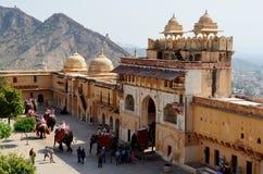 Fort ambre, Jaipur, Ràjasthàn, Inde Images libres de droits