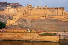 Fort ambre près de Jaipur, Ràjasthàn, Inde Photos libres de droits