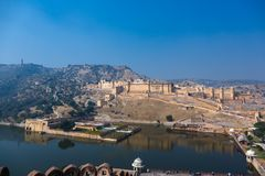 Fort Amer in Jaipur, India