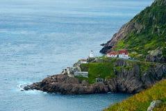 Fort Amherst i Newfoundland royaltyfria foton
