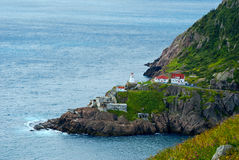 Fort Amherst in Newfoundland Royalty-vrije Stock Foto's