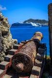 Fort Amsterdam, St. Maarten Stockbilder