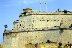 Fort Angelo, Grand Harbour, Malta. Royalty Free Stock Photography