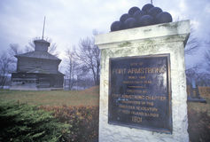 Fort Armstrong, Rock Island, Illinois Stock Photos