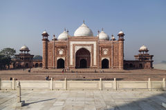 Fort around Taj Mahal in Agra, India Royalty Free Stock Photos