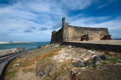 Fort in Arrecife Royalty Free Stock Image
