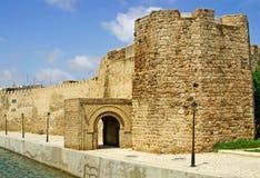 Fort av Bizerte, Tunisien royaltyfria foton