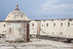 Fort av San Fernando de Bocachica Arkivfoto