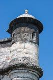 Fort av San Fernando de Bocachica Royaltyfri Foto