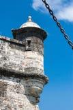 Fort av San Fernando de Bocachica Royaltyfria Bilder