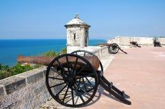 Fort av San Miguel i Campeche Arkivfoton