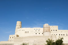 Fort Bahla Oman. Fort Bahla is listed on the World Heritage List Stock Photo