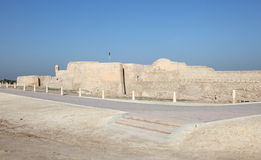Fort of Bahrain in Manama, Middle East Royalty Free Stock Photo