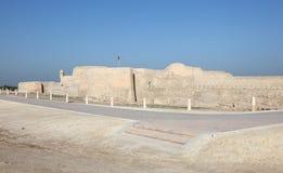 Fort Bahrajn w Manama, Środkowy Wschód zdjęcie royalty free