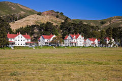 Fort Baker. Is one of the most famous elements of California's Golden Gate National Recreation Area Stock Photos