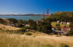 Fort Baker. Is one of the most famous elements of California's Golden Gate National Recreation Area Royalty Free Stock Photography