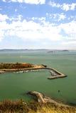 Fort Baker Beach on Horseshoe Cove, SFO, California Stock Image